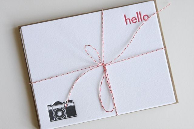 Simplesong {letterpress love}