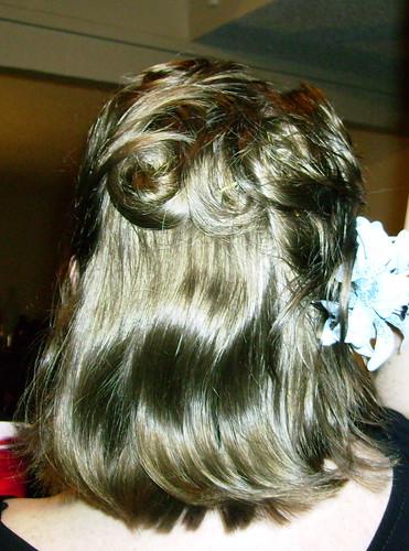 Hair, back