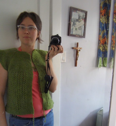 recycled lady sweater