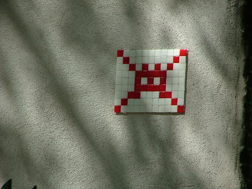 Space Invader - Amsterdam, Netherlands