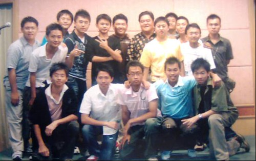 Teacher STP and students