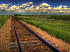 Blue Sky on Rails