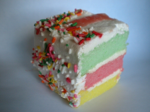 Rainbow Cake from Dee-Lite Bakery