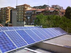 Impianto fotovoltaico scuola materna via degli...