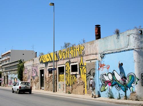 Graffiti em Olhão