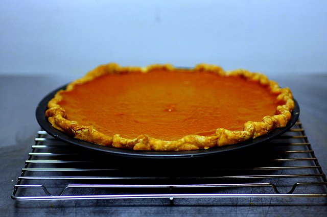 smoother, silkier pumpkin pie