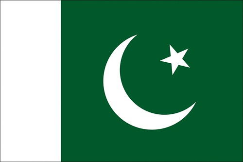 Pakistan Flag by aimslife.