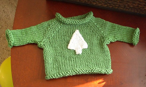 Autum's new baby sweater