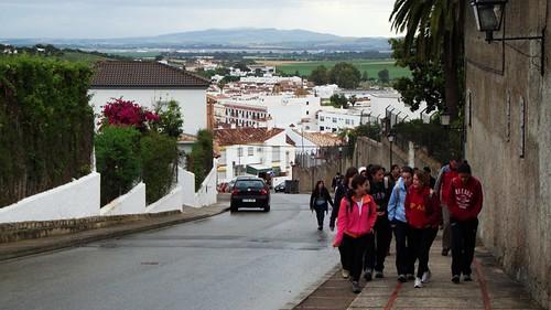 Camino del Convento de las Carmelitas (San José del Valle)