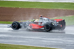 silverstone F1 2008