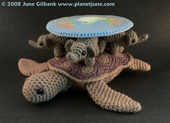 Amigurumi Discworld view 3 by planetjune