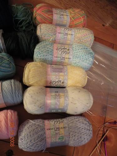 DK Weight Yarn for Preemie Blankets