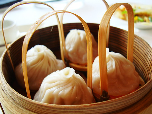 Lung King Heen, Hong Kong - xiao long bao