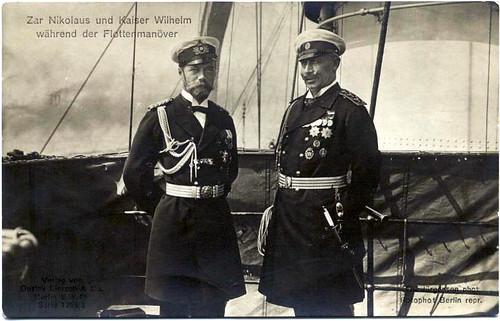 Zar Nikolaus II. und Kaiser Wilhelm II.