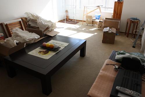 Mon salon, de plus en plus meuble