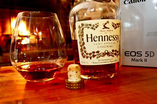 still life with cognac