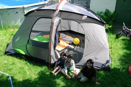 New tent...