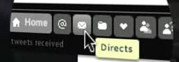 Twhirl - Direct Message Button