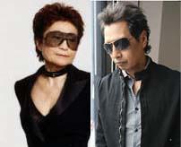 Yoko Ono and Alejandro Escovedo
