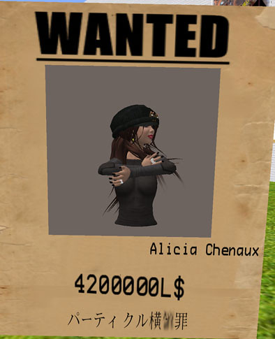 I'm wanted. lmao