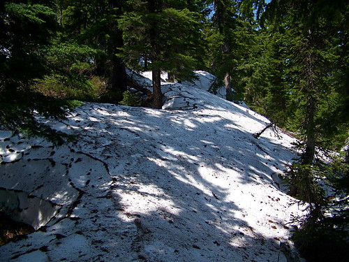 North side of Penrose Peak in July