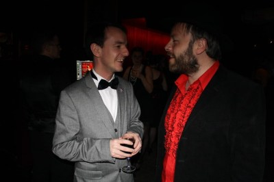 Darragh and Rick at Burlesque