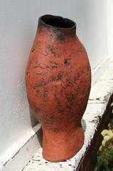 Marea Gazzard. Red earthenware pot. ca.1963-65