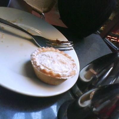 Mince pie in scotts
