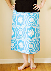 Casey Scroll skirt