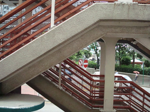 footbridge staircases