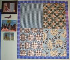 Amy Butler Fabric Bulletin Board