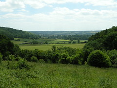 The Chilterns, UK, view from Ashridge Estate