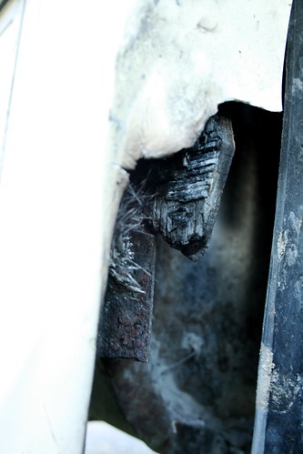 Fire Damage on the RV