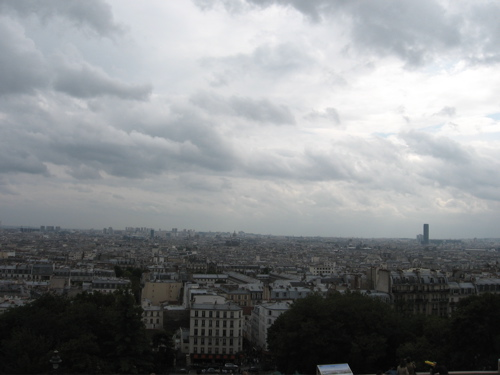 Paris from the Sacre Coeur