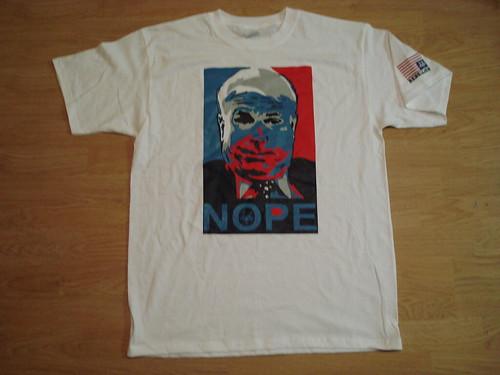 NOPE McCain