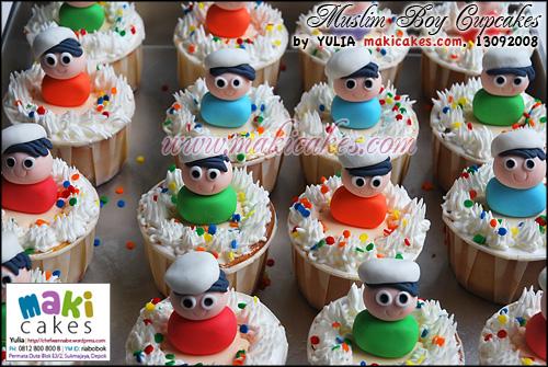 Muslim Boy Cupcakes - Maki Cakes