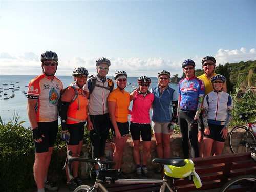 Our Girona cycling group
