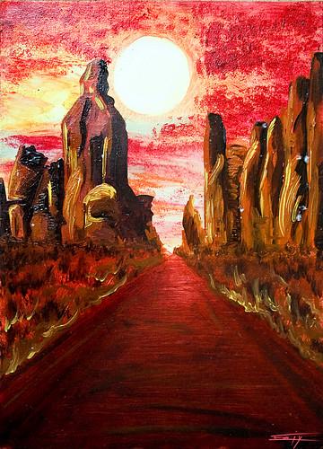 Désert rouge - Bloody Desert
