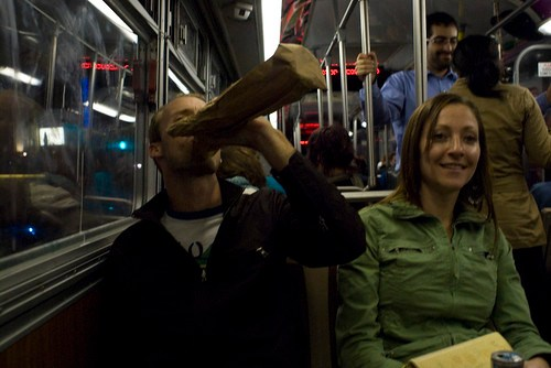 did you know it's legal to drink on muni?