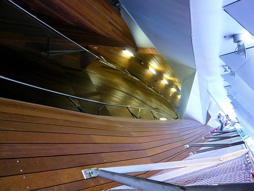 Inside Yokohama International Port Terminal