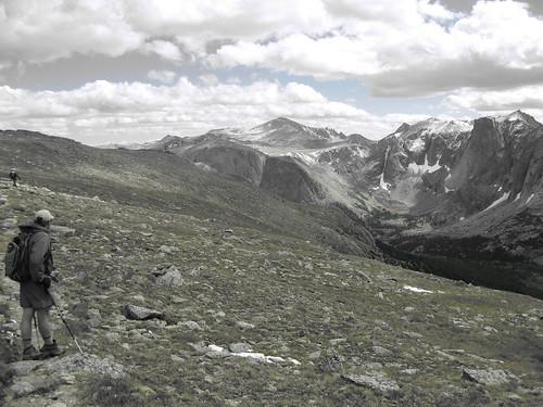 Descent from Lizard Head Trail