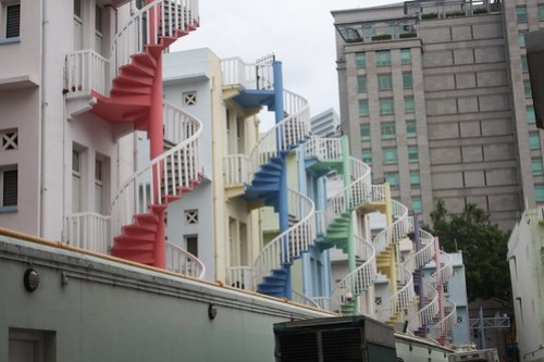 [Singapore Training] Colorful Houses