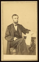 [Abraham Lincoln, U.S. President. Seated portr...