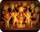 Paul Klee. Ligados a las estrellas, 1923.