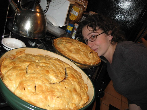Kelly and her Pies