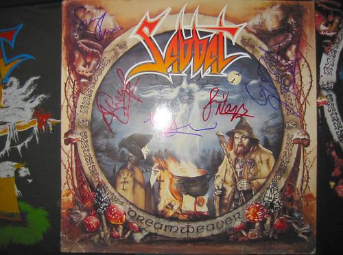 20080419 - Sabbat concert at Jaxx - 155-5502 - close-up of autographed vinyl album