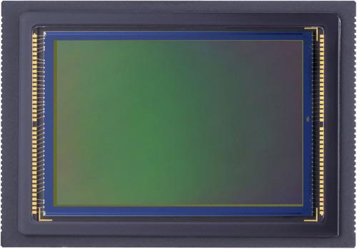 The 21 megapixel sensor of the 5D Mark II