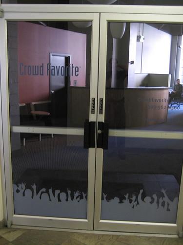 Crowd Favorite Office Door