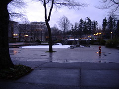 UVic Fountain Prank