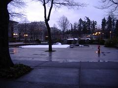 UVic Fountain Prank